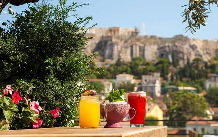 360 Roof Garden Bar in Athens