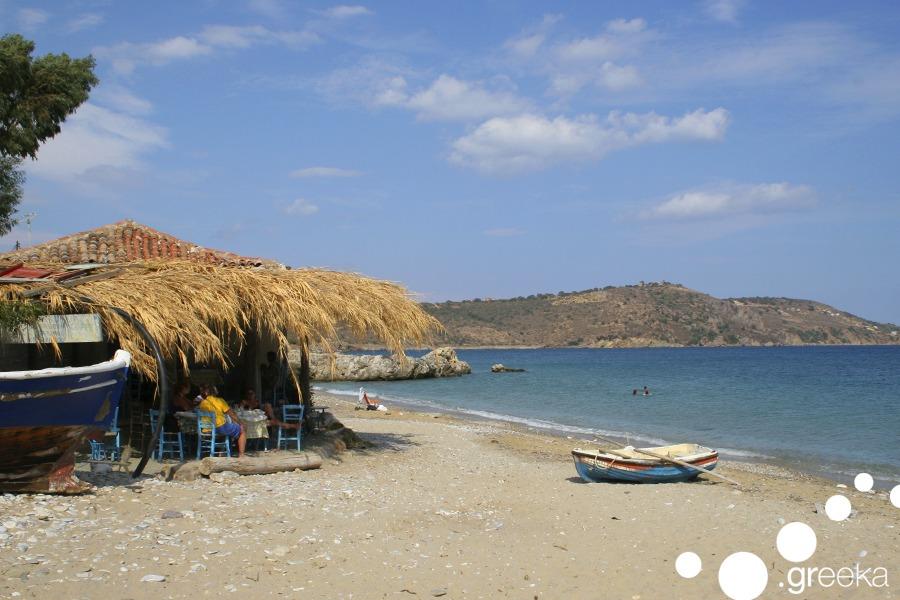 Gyhtio agia varvara beach