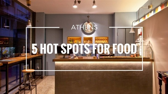Hot spots for food in athens