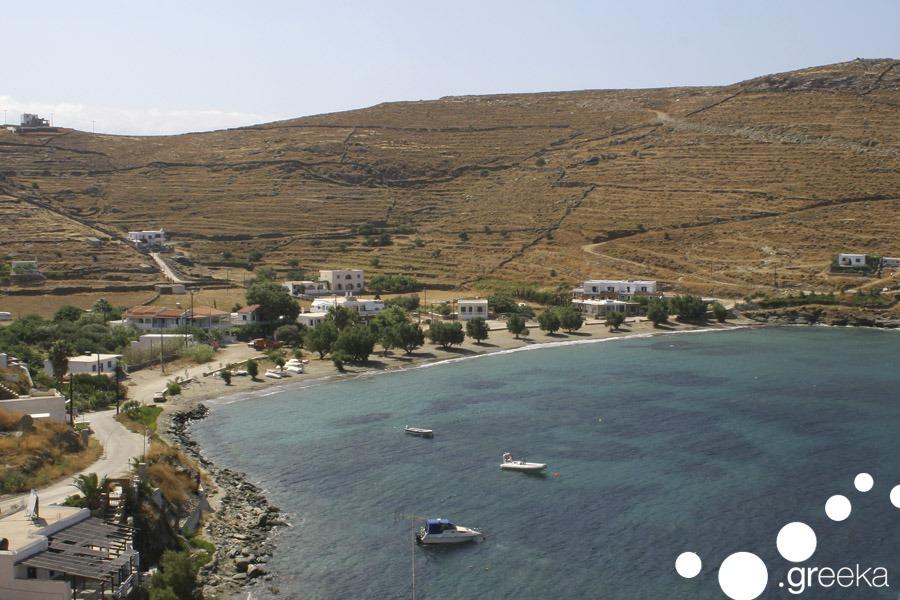 Kythnos Agios Dimitrios Beach