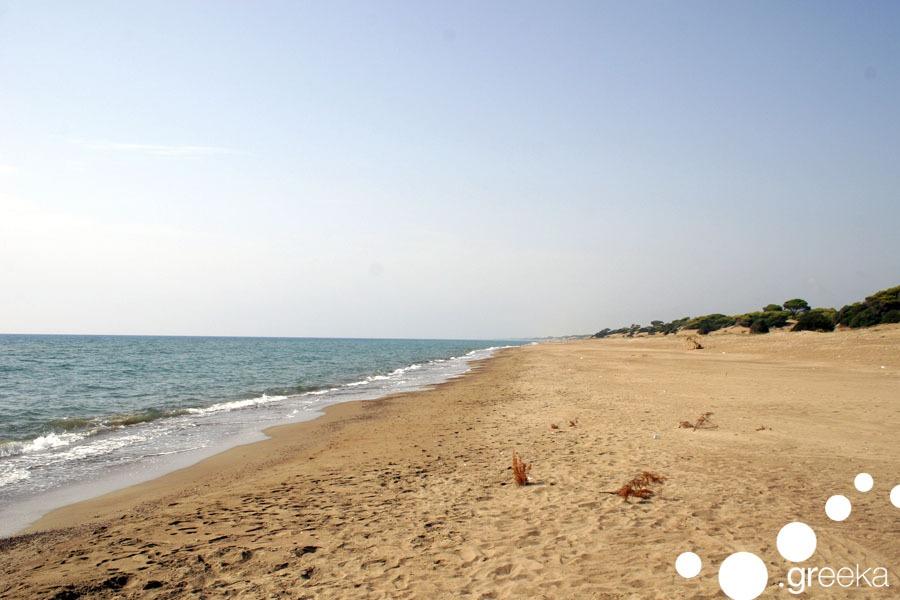 Zaharo beach Peloponnese