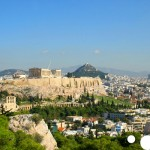 Best places with panoramic view of Athens: the Acropolis Hill