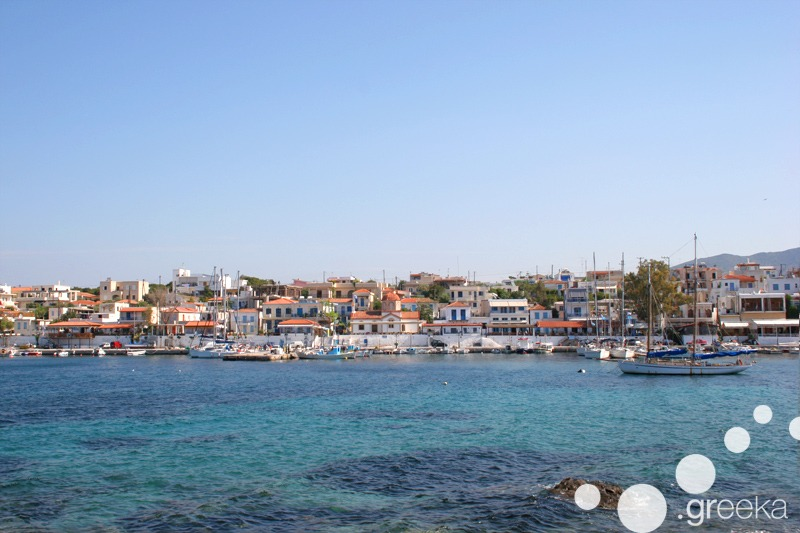 Aegina island near Athens Greece