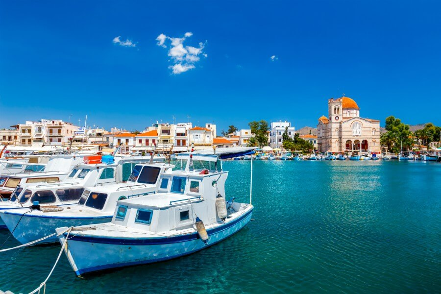 aegina island greece