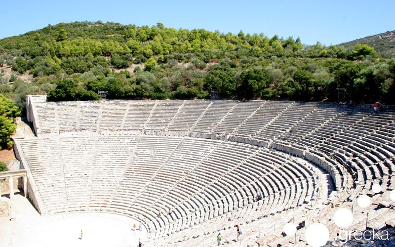 Famous Greek landmarks: Epidaurus Ancient Theatre