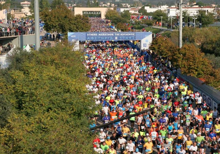 Running events in Greece: Athens Authentic Marathon