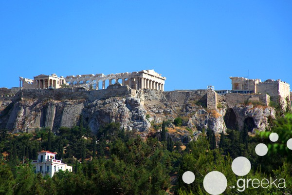 Athens famous buildings: the Acropolis