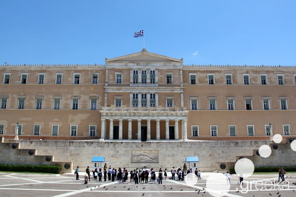 Athens famous buildings: the Greek Parliament