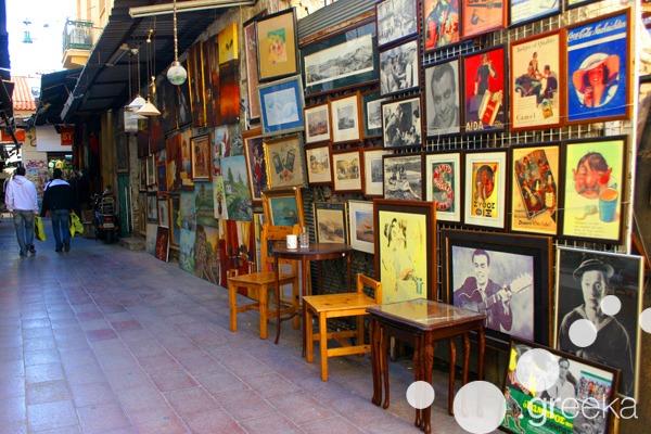 Athens flea markets: from Monastiraki to Avissinias Square