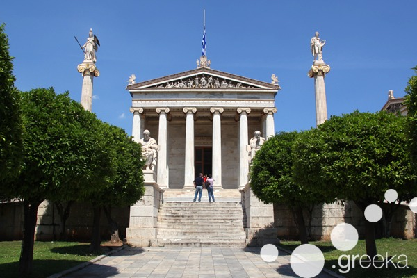 Athens famous buildings: the Neoclassical trilogy