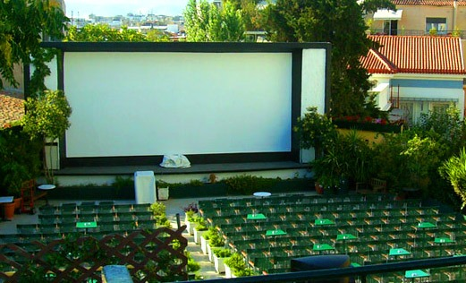 Cine Paris among the best Athens open air cinemas