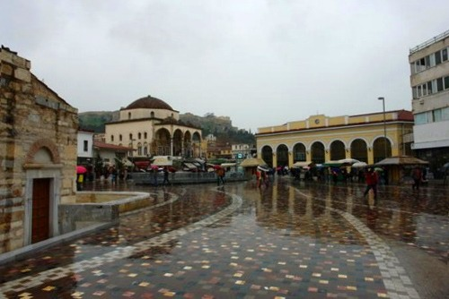 Athens in a rainy day: what to do