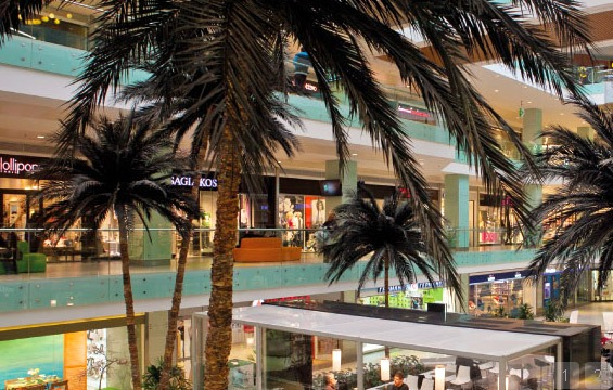 Athens shopping malls