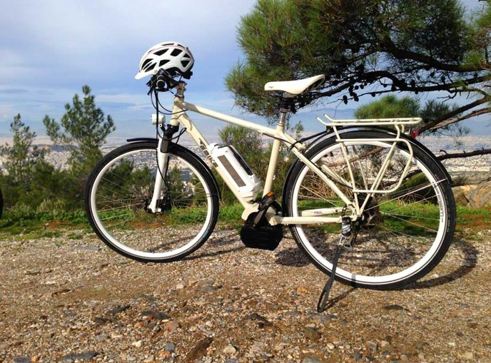 Athens electric bike tours
