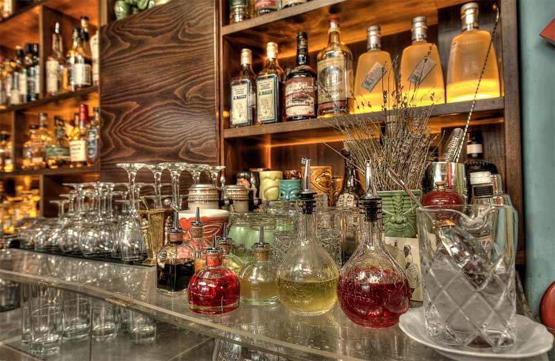 Baba Au Rum Bar in Athens