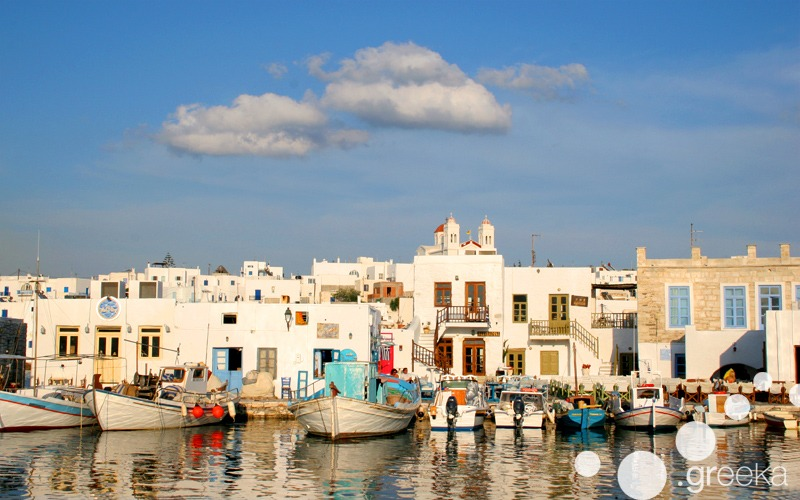 Best day trips from Naxos: Paros island