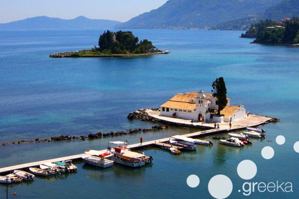 Best things to see in Corfu Town: Kanoni and Mouse island