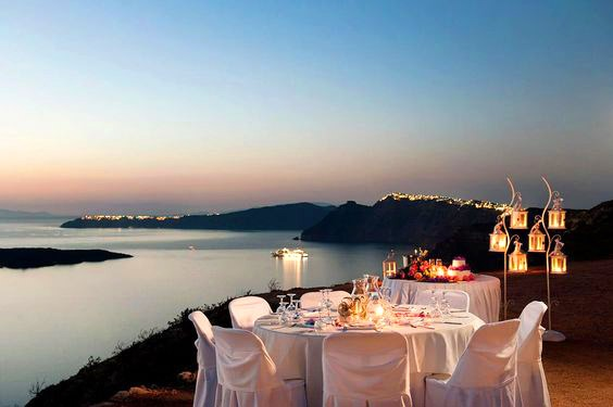 Celebrate your birthday in Greece with candlelit dinner