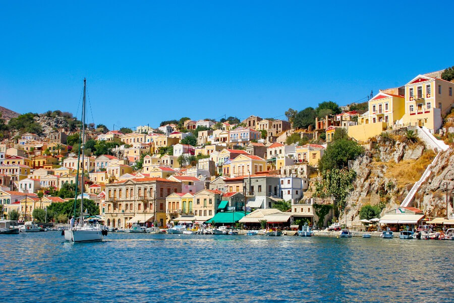 boat tour to symi