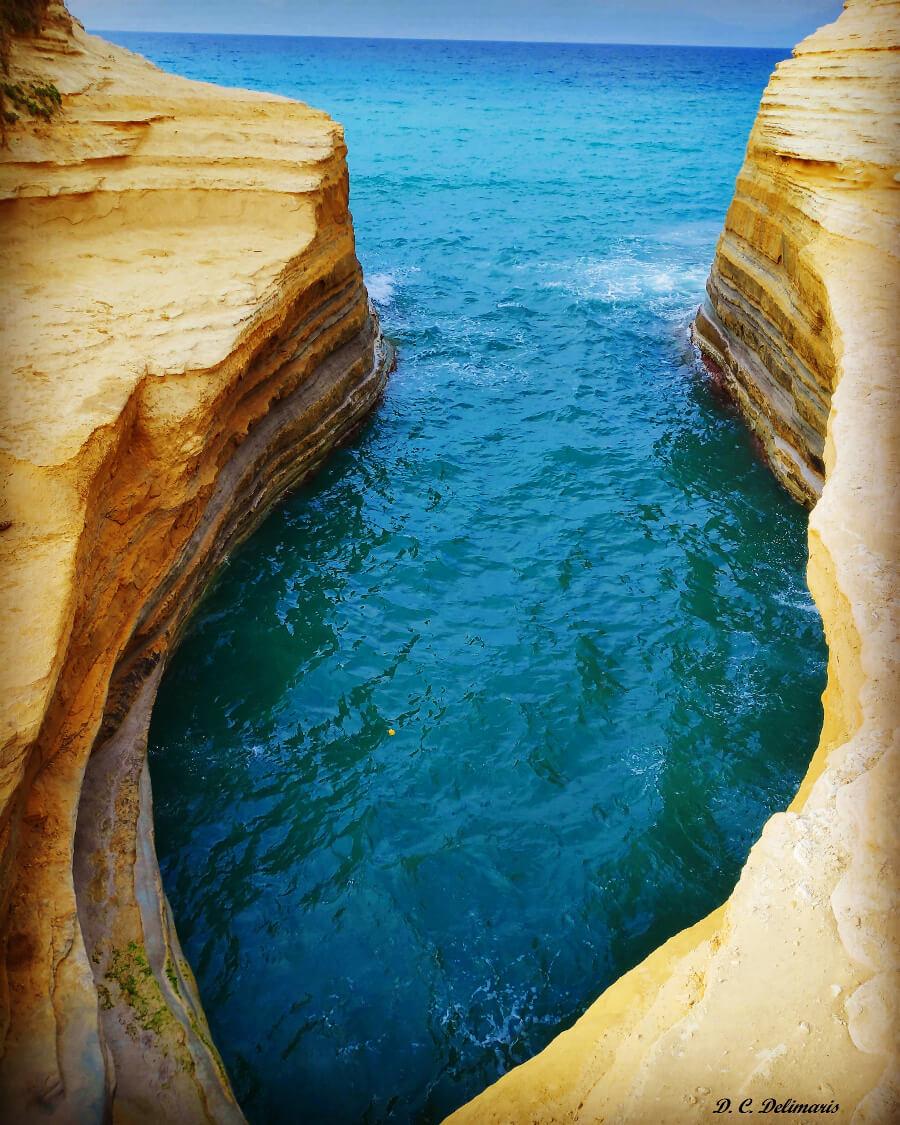 canal d'amour beach corfu