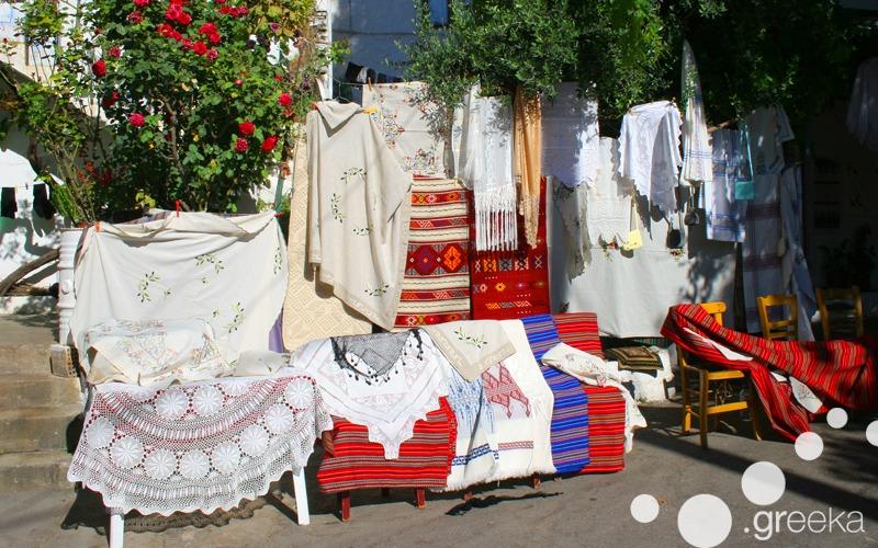 Carpets from Crete island, Greece