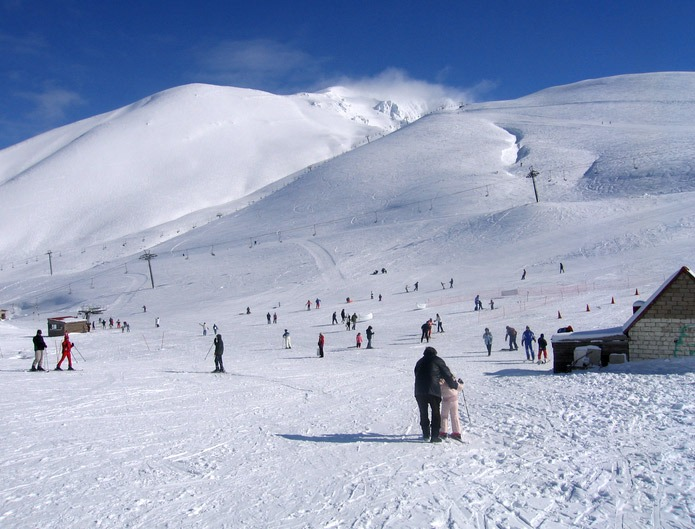 Spend Christmas in Greece and see the country in snow