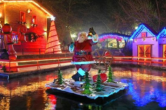 Christmas theme parks in Greece