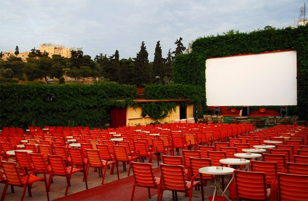 Athens open air cinemas: Cine Thissio