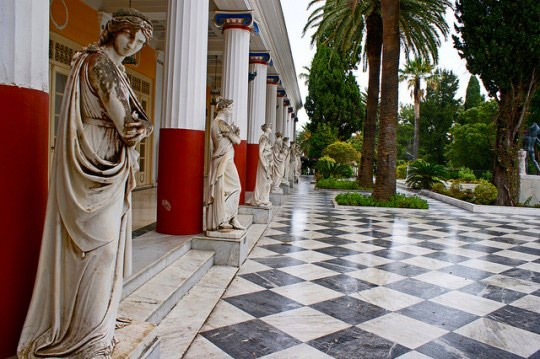 Top museums in Greece: Achillion Palace in Corfu