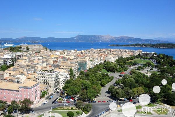 Spianada Square in Corfu Town