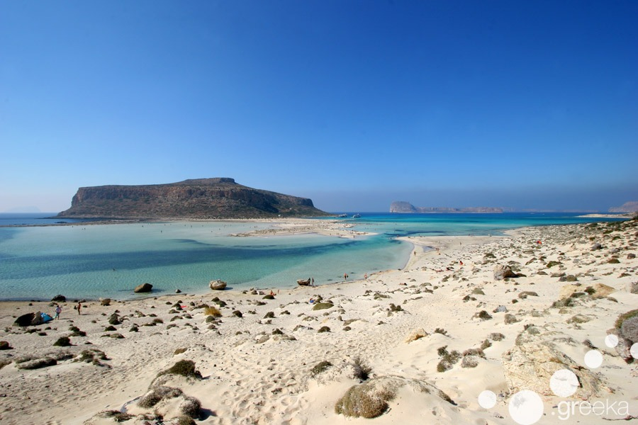 Crete top places to visit: Balos beach