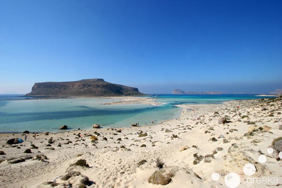 Crete top places to visit: Balos beach