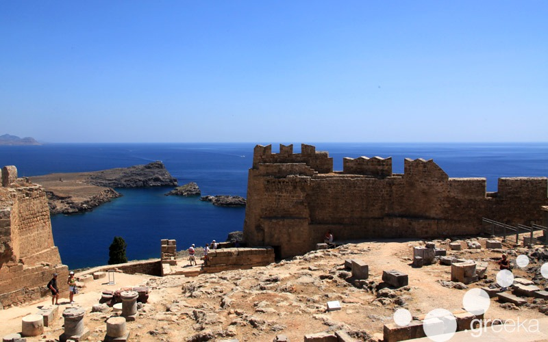 Crete island hopping to Rhodes