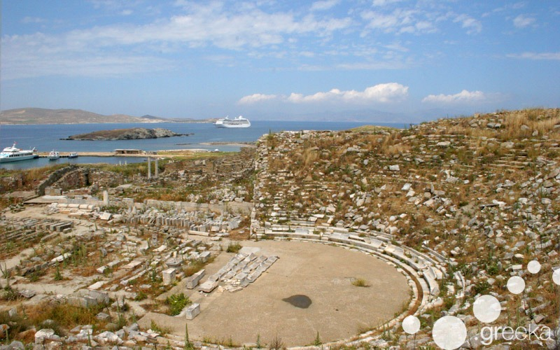Boat Tour to Delos Island