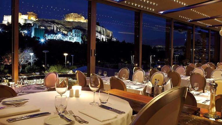 Dionysos Restaurant in Athens Greece