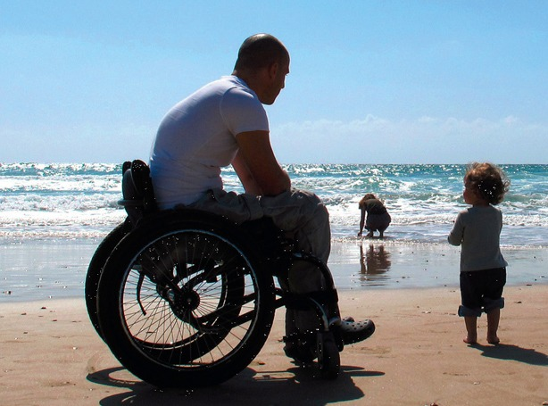 Traveling in Greece on wheelchair