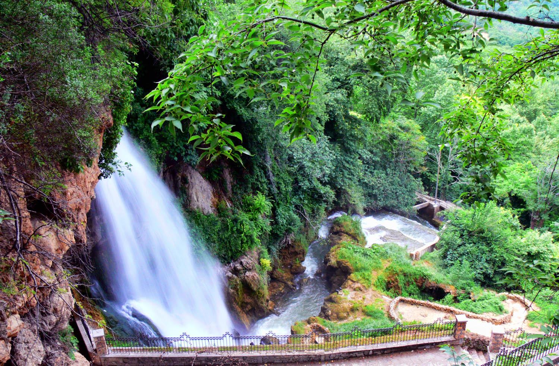 Edessa, Wasserfälle.