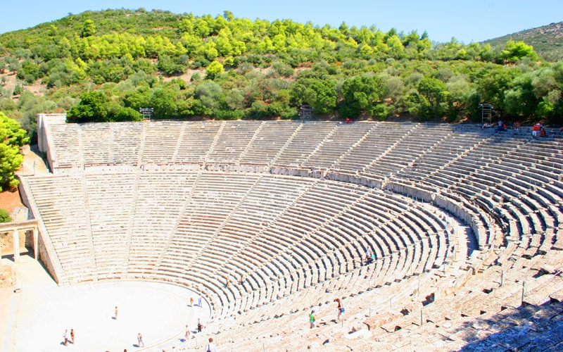 Ancient Epidaurus Theatre, Greece
