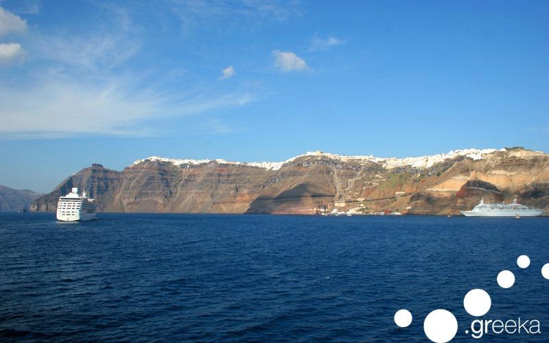 Caldera of Santorini: Greek landmark