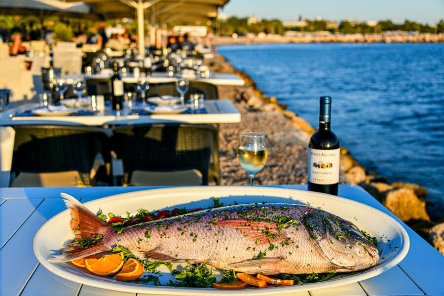 fish in greece