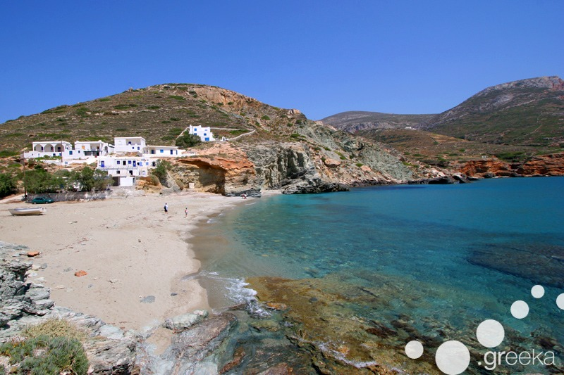 Folegandros island for photo shooting