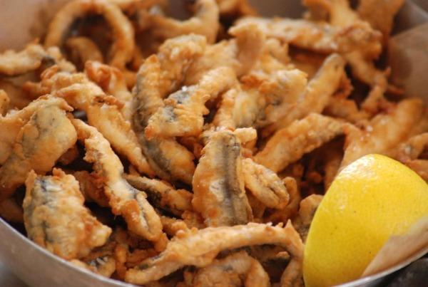 Top Greek dishes: Fried fish