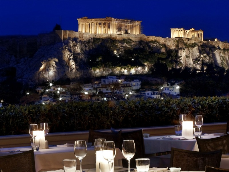Athens gourmet restaurants: Grand Bretagne Restaurant and Bar