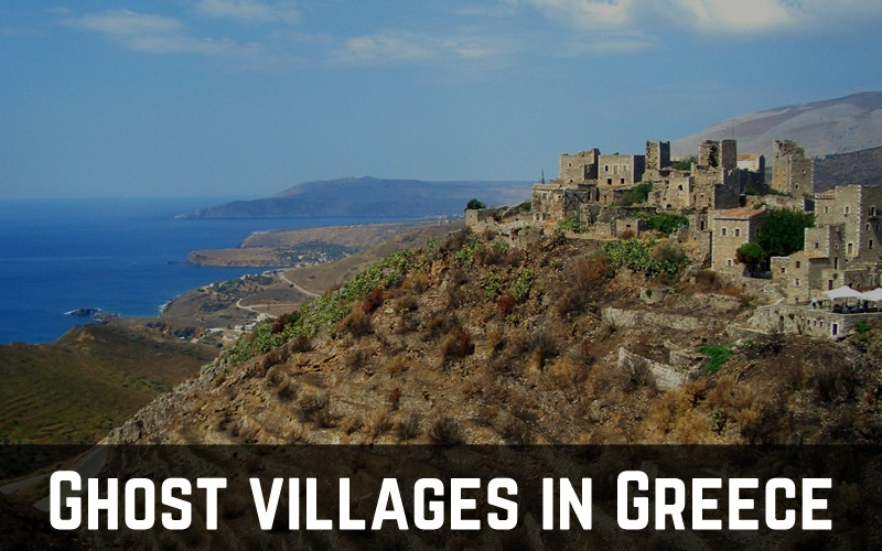 Ghost villages in Greece