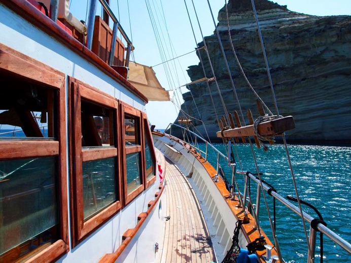 Greek island activities: Sailing in the Greek islands