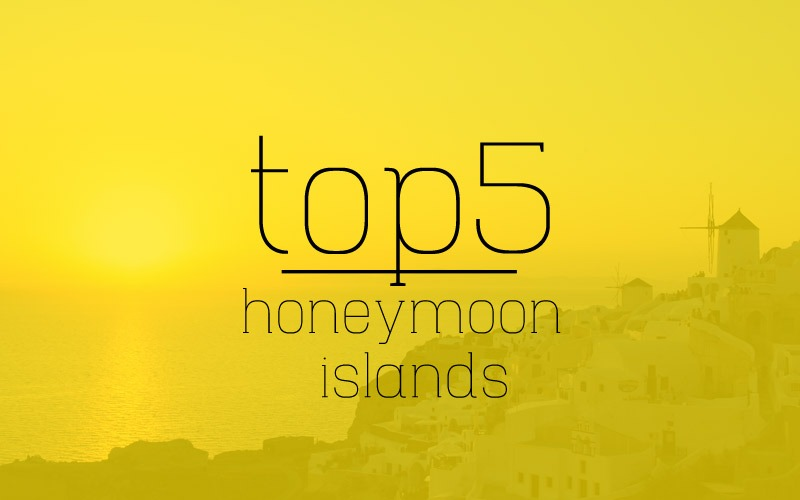 Greek islands honeymoon