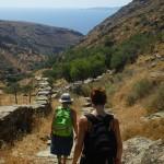 Walking in the Greek islands