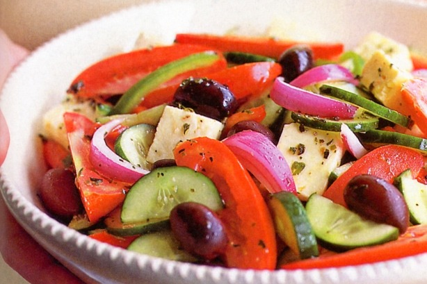 Top Greek dishes: Greek salad, or horiatiki