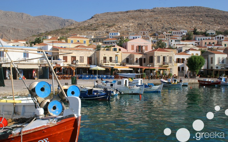Day trip from Rhodes to Halki