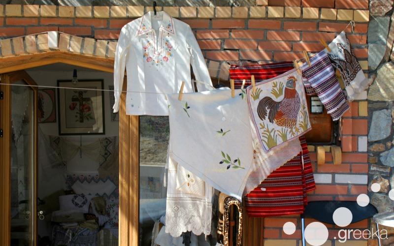 Handmade shirts from Greece